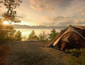 Как правильно устанавливать палатку