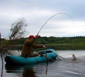ловля на спиннинг