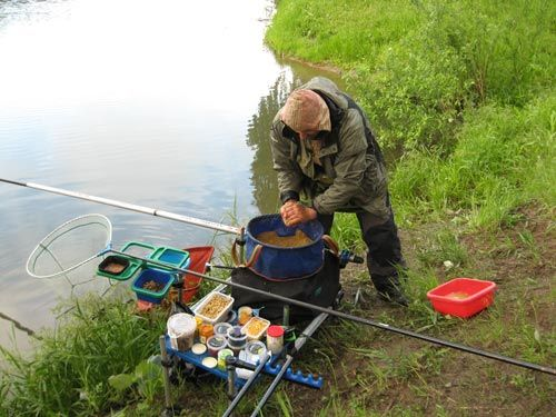 как называется рыбацкая снасть для прикормки