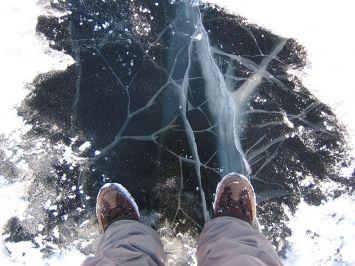 Трещит под ногами