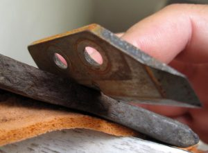 Правильная заточка ножей для зимнего ледобура