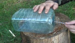 Раколовка с пластиковых бутылок