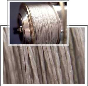 Диаметр и форма плетеного шнура
