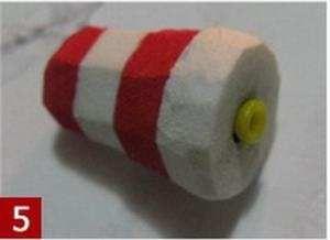 Трубочка от ватной палочки внутри мандулы