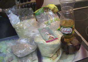 Готовим салапинскую кашу для фидера