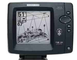 Эхолот для лодки Humminbird 748x 3D