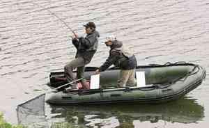ПВХ лодка для двоих человек
