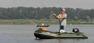 Лодка для одного рыбака