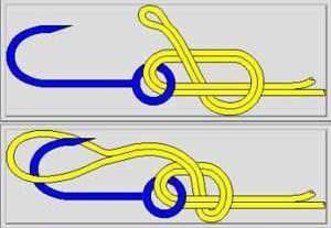 Техника вязки узла Паломар