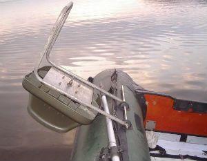 Крепление кресла на балон ПВХ лодки