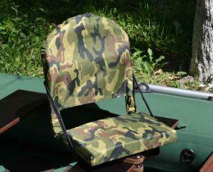 Кресло с поворотным механизмом для ПВХ лодки
