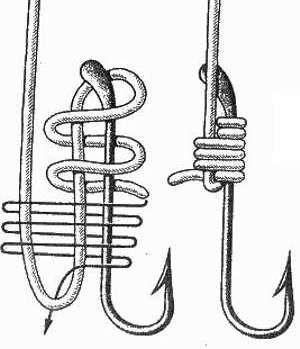 Схема вязки ступенчатого узла