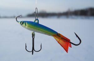 ловля окуня зимой на мушку