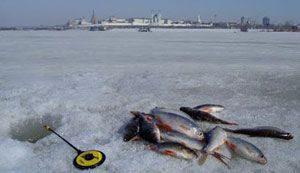 Зимняя рыбалка по первому льду оставит исключительно приятные эмоции