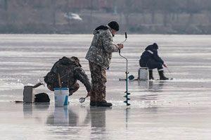 Поиск места для рыбалки по перволедью потребует высокой активности рыбака