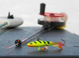 Снасти для зимней рыбалки на окуня на балансир