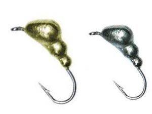 Зимняя мормышка для ловди плотвы Salmo Муравей с петелькой