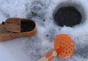 Добыча мормыша зимой