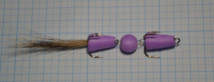 Мандула на судака фиолет