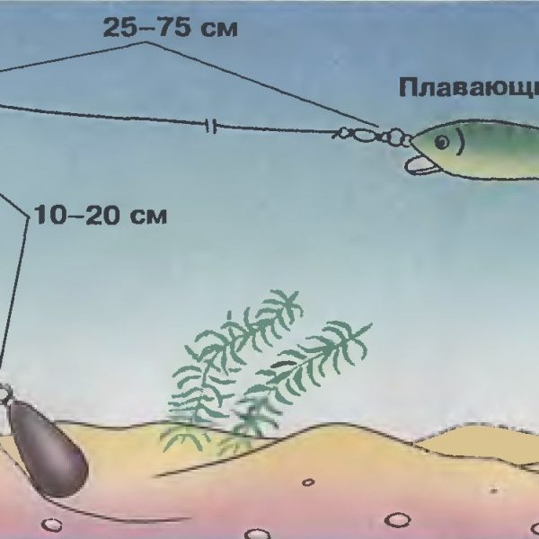 Заглубляем воблер от 6 до 15 метров