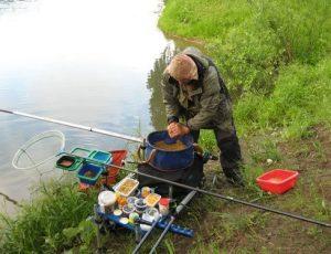 Техника прикармливания белой рыбы