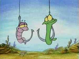 Как разводить и насаживать червя