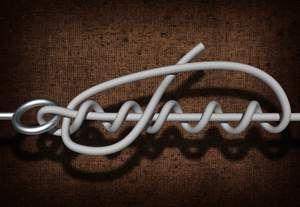 как вязать узел клинч и его применение